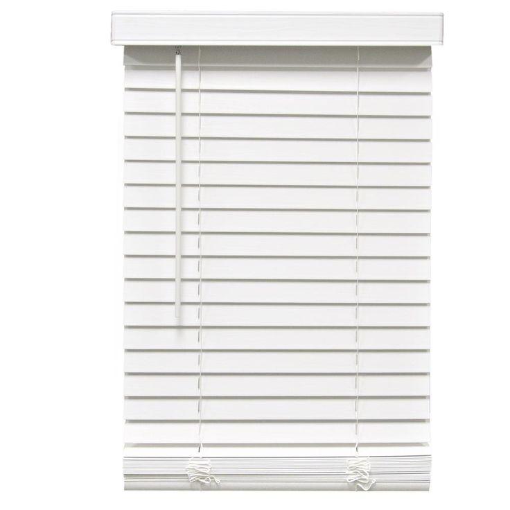 17 best ideas about faux wood blinds on pinterest white. Black Bedroom Furniture Sets. Home Design Ideas