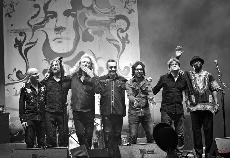 Robert Plant & the Sensational Space Shifters 2013 Tour