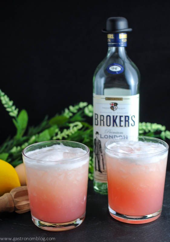 Rhubarb Sour Cocktail Recipe