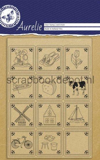 Aurelie Tiles Clear Stampset