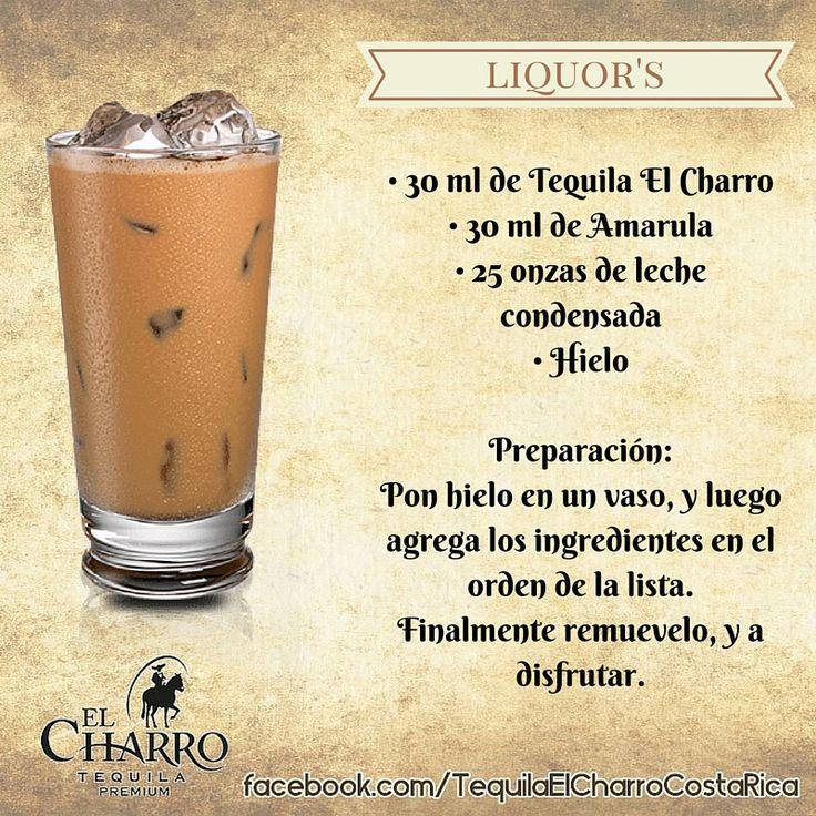 Liquor's, con Tequila El Charro! #Tequila #TequilaElCharro #Coctel #Cocktail #Liquors