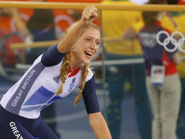 Laura Trott (GBR) - ciclismo  Foto: Reuters