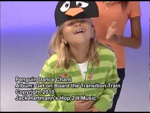 ▶ Penguin Dance   Gross Motor Movement   Kids Songs   Children's Music by Jack Hartmann - YouTube