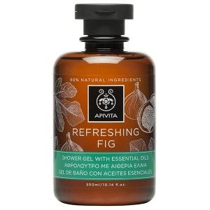 REFRESHING FIG Shower Gel with Essential Oils with fig #Revitalizing , Sense of #freshness #Dirt removal Cool shower gel with essential oils, inspired by the principles of aromatherapy, which gently cleanses the skin without dehydrating it and at the same time preserves the natural moisture of the skin. Lively scent offering a sense of freshness, suitable for men and women. Read more at www.apivita.com