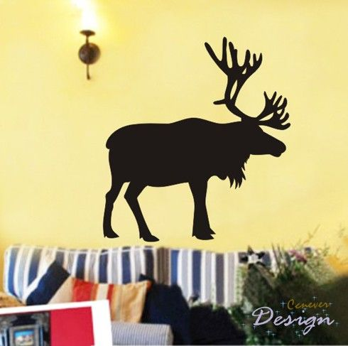 Deer Hunting Inch    Removable Graphic Art Wall Decals Stickers Home Decor Part 85