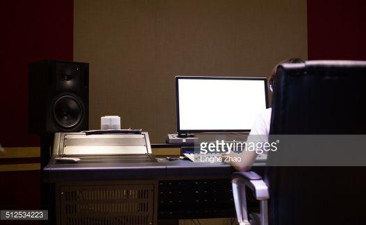 Stock Photo : music studio