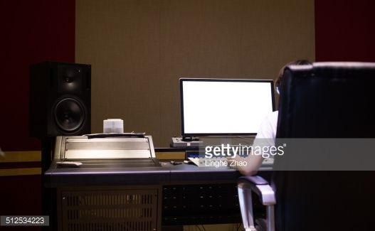 Stock Photo : music studio