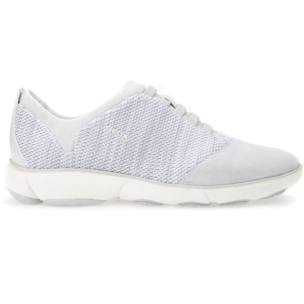 Geox Nebula Woman (520 PEN) ❤ liked on Polyvore featuring shoes, sneakers, off white, trainers, off white sneakers, off white shoes, champagne shoes, nebula shoes and geox trainers