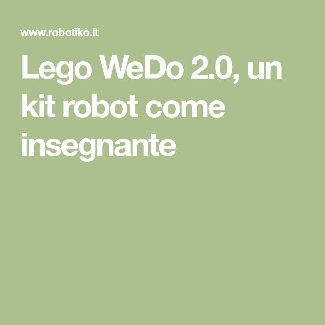 Lego WeDo 2.0, un kit robot come insegnante