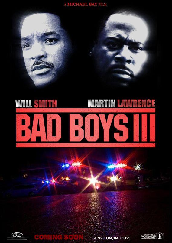 Bad Boys 3 Movie Poster Noticias De Cine Martin Lawrence Bad Boy