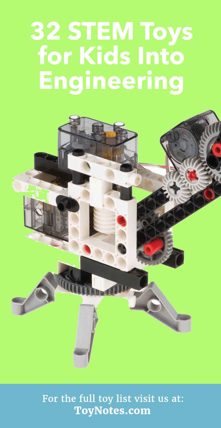 We have compiled this list of STEM engineering toys to help you choose the best one for your very own engineer!