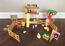 Barbie KELLY Petting Zoo Playset Set with Accessories  Animals 1999