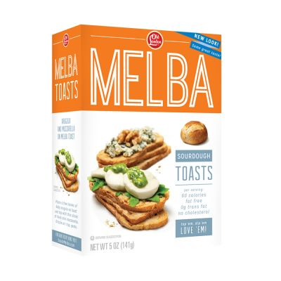 Sourdough Melba Toasts - The classic tangy flavor of real ...