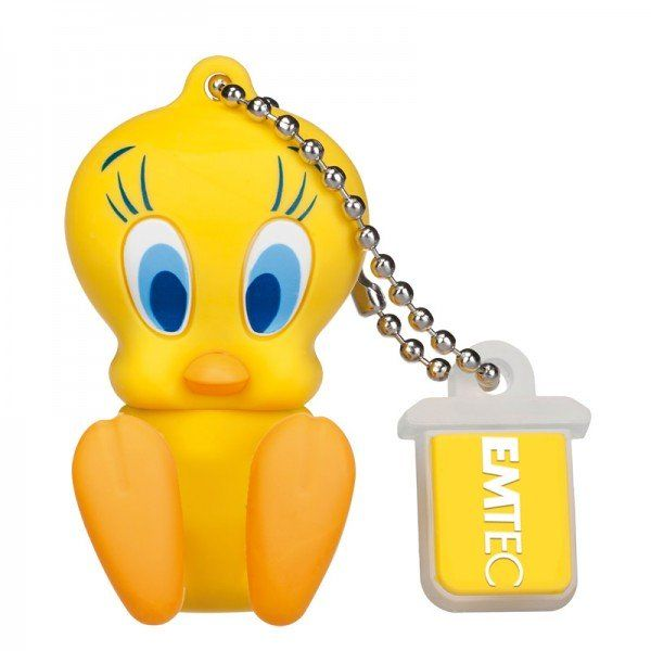 Emtec Looney Tunes USB 2.0 8GB Flash Drive Tweety
