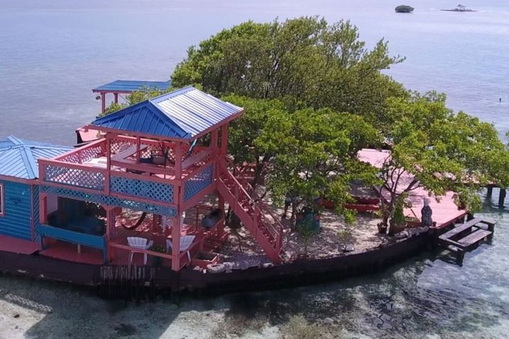 in Stann Creek Dist, Belize. Stay in your own small private island on a beautiful atoll, with excellent  swimming, snorkeling, kayaking and exploring - with all the comforts. Bird Island has been featured in many national magazines and newspapers throughout the world; it was ...