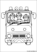 Malvorlagen Feuerwehrmann Sam 2, Kostenlose Malvorlagen gratis und kostenlos Ausmalbilder