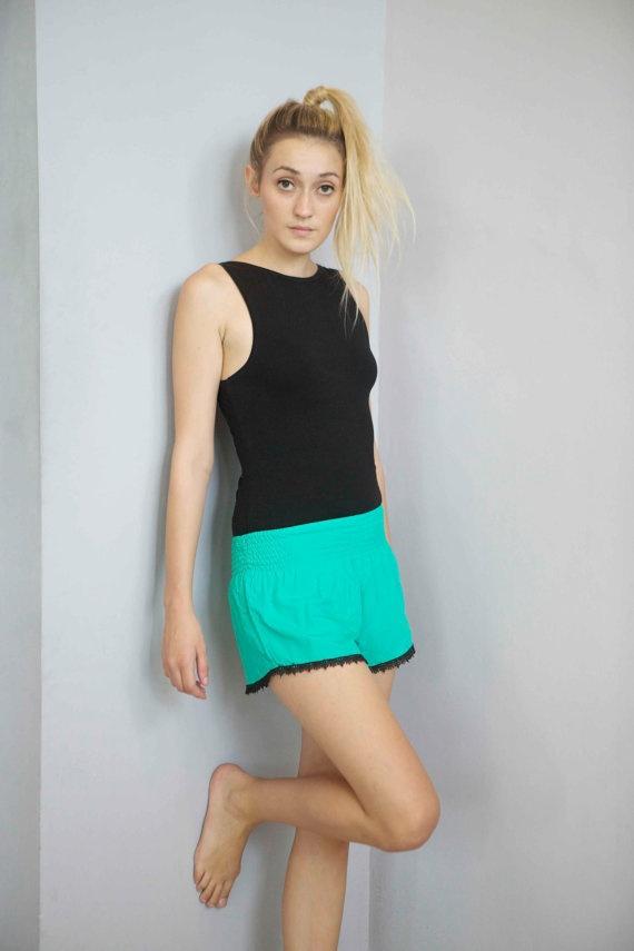 Let's play chasey  Summer Shorts by frankandlola on Etsy, $45.00