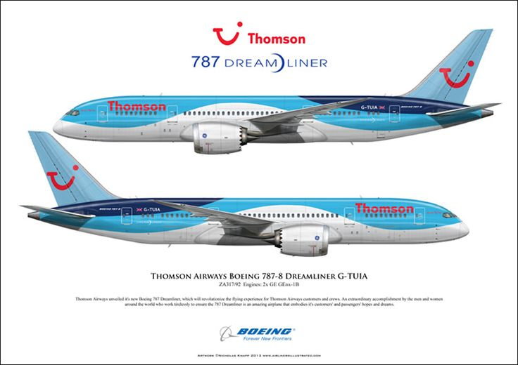 Thomson Airways Boeing 787-8 Dreamliner G-TUIA ZA317 Ln: 9… | Flickr