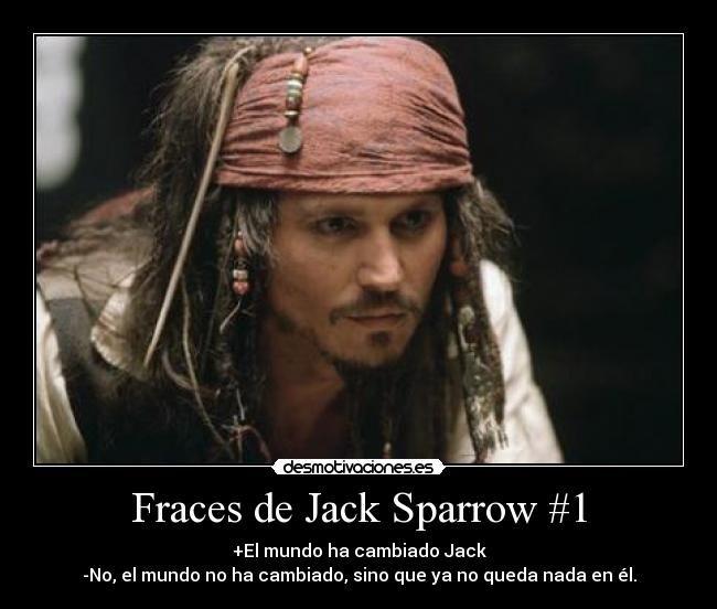 Frases De Jack Sparrow En Español Chistosas Imagui