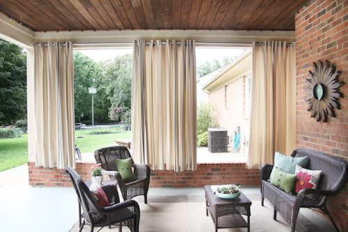 18 best outdoor curtains images on pinterest for Ikea outdoor curtains
