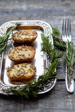 Rosmarinkartoffeln aus dem Ofen - etwas, das ich täglich essen könnte!  www.kuechenchaotin.de