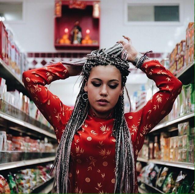 box braids white girl - Google Search