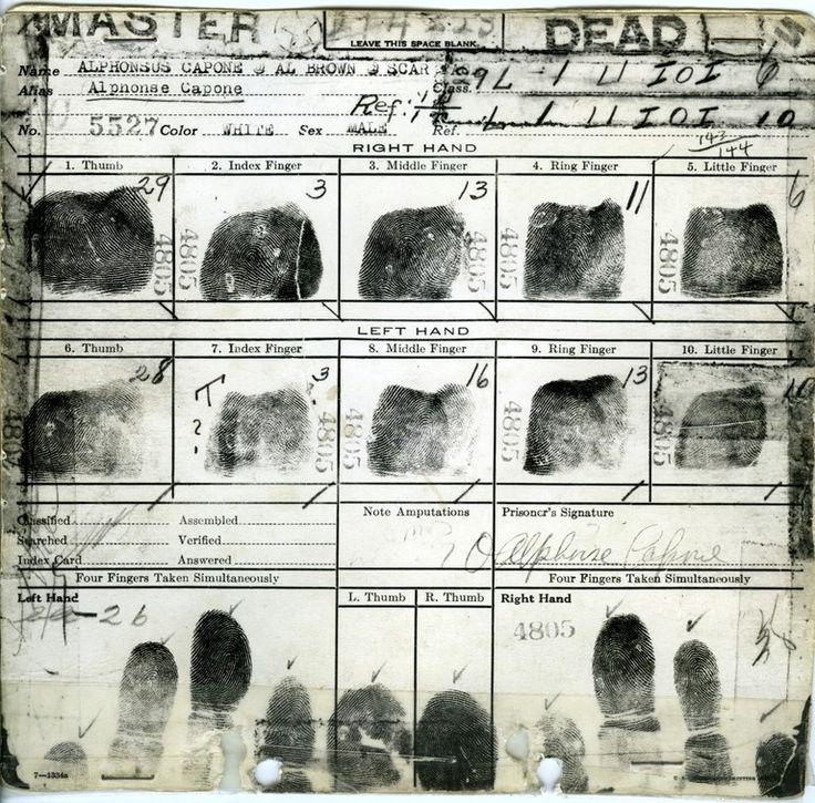 how to take fingerprints for fbi