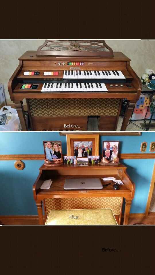 A Kimball Swinger Entertainer Organ Repurposed Into A