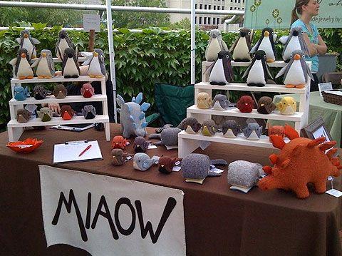 miaow plush toys - awesome stuffed animal display