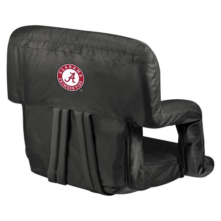 Portable Stadium Seats NCAA Alabama Crimson Tide Black