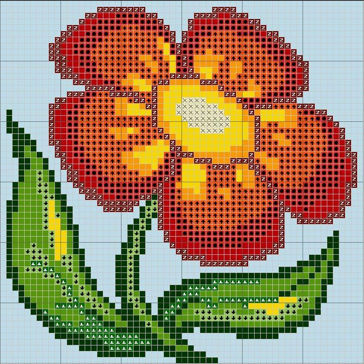 https://www.facebook.com/kanwapl?ref_type=bookmark Wzór graficzny Kwiatek