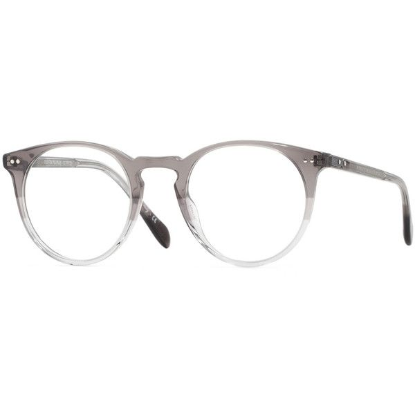 Oliver Peoples Sir O'Malley 46 Fashion Glasses ($440) ❤ liked on Polyvore…