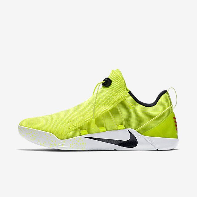 Kobe A.D. NXT  Every footwear designer has sketched out an idea for this type of lacing system.