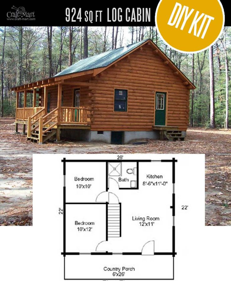 Tiny Log Cabin Kits – Easy DIY Project