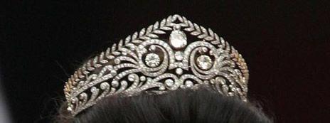 Tiara di diamanti della Principessa Ereditaria Vittoria Luisa di Hannover, nata Principessa di Prussia