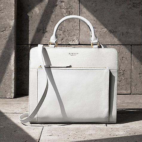 Buy Radley Clerkenwell Medium Leather Multiway Shoulder Bag Online at johnlewis.com