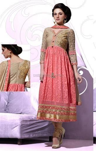 Nice and new anarkali churidar design that is patterned in Indian style dress of #salwarkameez patterns for modern fashion. This suit for ladies is a top-class #anarklisuit of 2016 in ongoing trend #desigersandyou #modernfashion #newanarkali #churidardesign #suitforladies