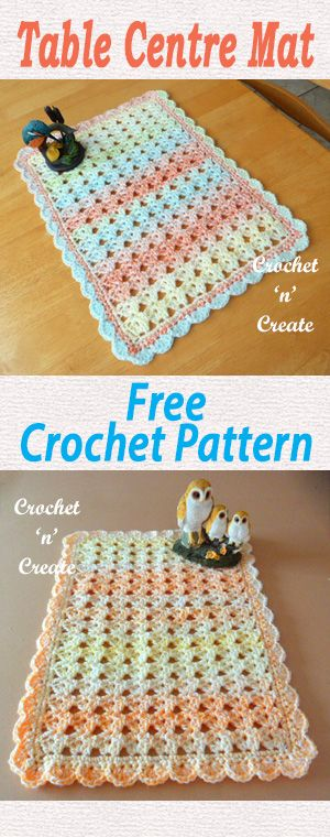 Free Printable Crochet Placemat Patterns : 25+ best ideas about Crochet placemats on Pinterest ...