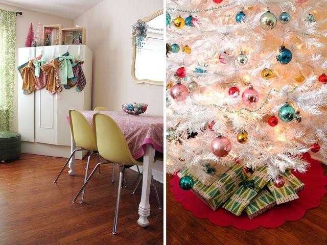 .: Color Christmas, Minis Dog Qu, Rooms Tours, Waves, Christmas Editing, Blog, Christmas Living Rooms