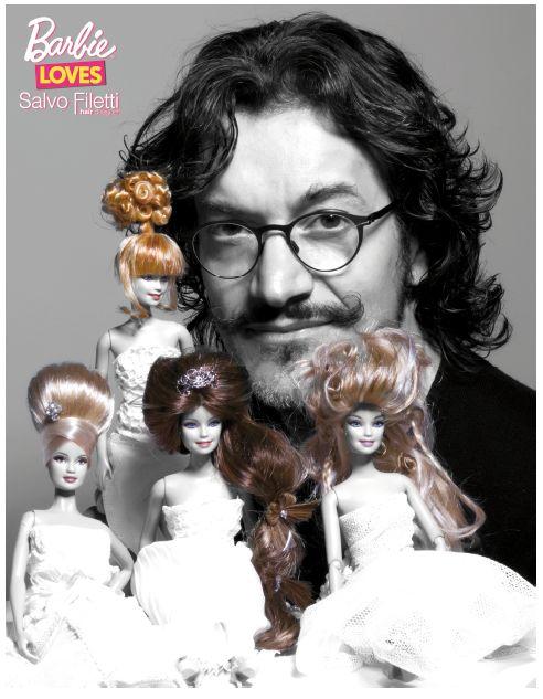 Barbie è romantica, dolce e sempre chic. Anche nel giorno del SI!. L'abito bianco e la pettinatura per il matrimonio della bambola piu' amata dalle bambine .http://www.sfilate.it/219343/gli-abiti-da-sposa-ed-capelli-per-il-matrimonio-secondo-barbie