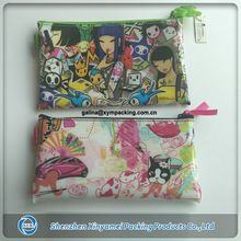 personalized travel cosmetic bags with zip
