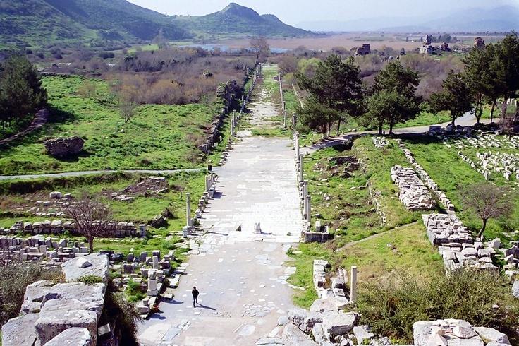 Harbor Street, Ephesus