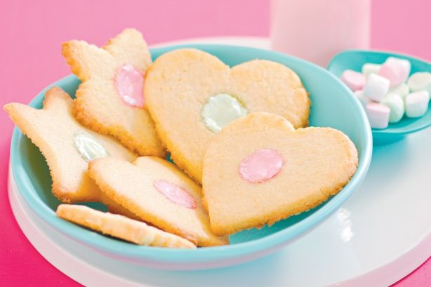 Marshmallow cookies Cute and simple. #cookies #delicious