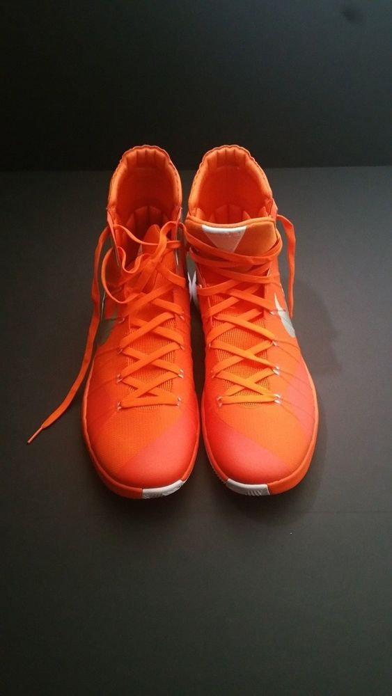 hot sale online e1b9e 37162 ... ireland nike hyperdunk 2015 tb mens basketball shoes size 17.5 16  orange silver white nike basketballshoes