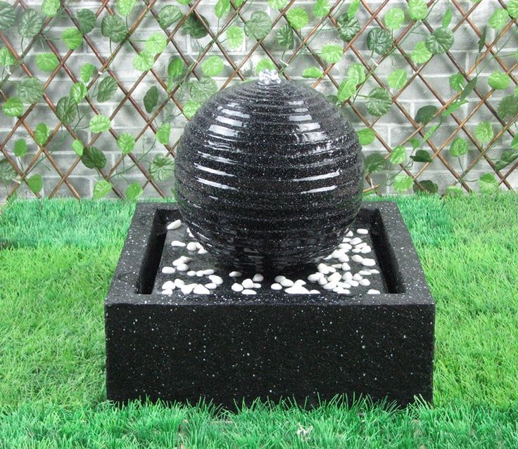 This Easy To Install Sun Powered Water Wall Is Wonderful For Any Backyard.  Come See · Solar FountainsWall ...