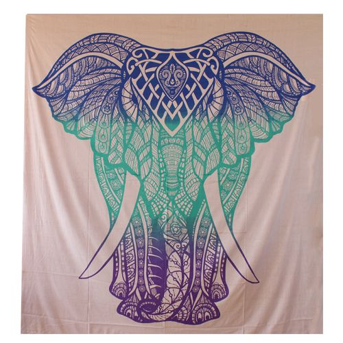 Elephant printed wall hanging tapestry to decor you home buy now @ handicrunc