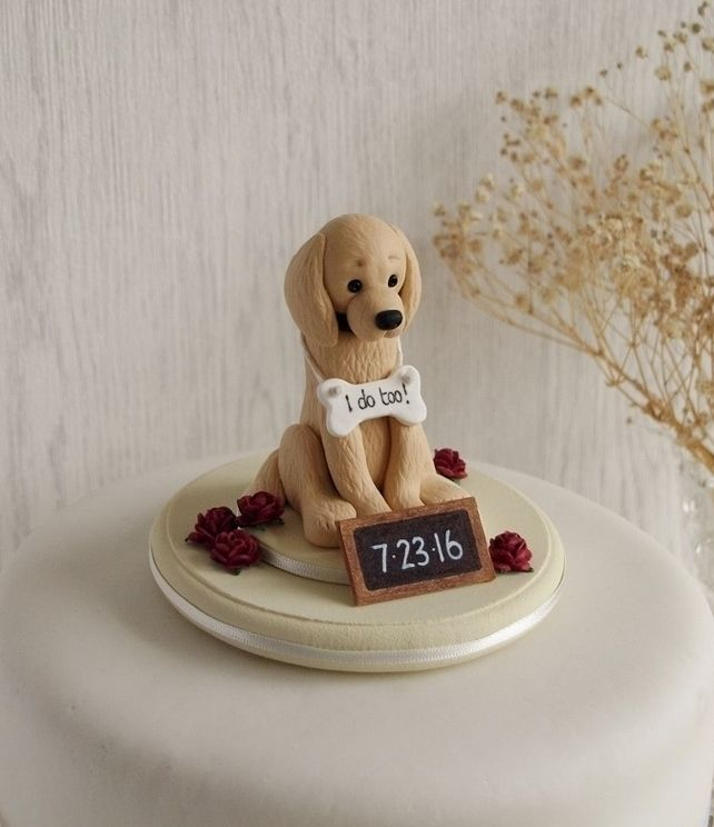 wedding cake topper with dog uk the 25 best golden retriever wedding ideas on 26661