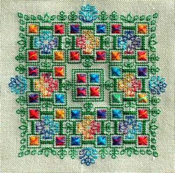 SEBA Designs Bliss Cross Stitch & Blackwork by LeighBoStitches