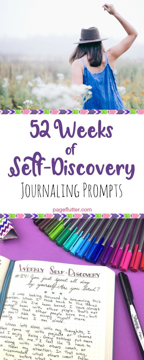 52 weeks of self-discovery / Bullet Jounrla
