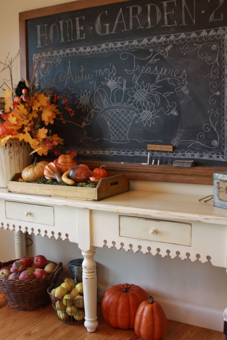 1347 best images about fall decorating everything fall - Home decor ideas images ...